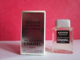CHANEL - EGOÏSTE PLATINIUM - Edt  - Miniature - Miniatures Men's Fragrances (in Box)