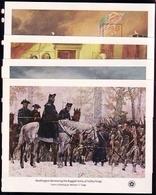 USA BLOCK 12-15 POSTFRISCH(MINT) 200 JAHRE UNABHÄNGIGKEIT 1976 GEMÄLDE PFERDE BOOT - Blocs-feuillets