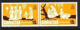 GIBRALTAR MI-NR. 413-414 POSTFRISCH(MINT) WEIHNACHTEN 1980 - Gibilterra