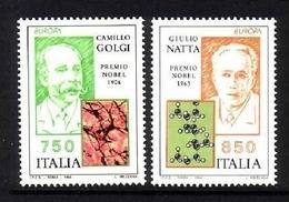 ITALIEN MI-NR. 2325-2326 POSTFRISCH(MINT) EUROPA 1994 - ENTDECKUNGEN Und ERFINDUNGEN NOBELPREISTRÄGER - 1994
