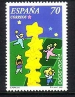 SPANIEN MI-NR. 3540 POSTFRISCH(MINT) EUROPA 2000 - STERNE - Europa-CEPT