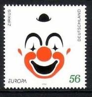 DEUTSCHLAND MI-NR. 2252 POSTFRISCH(MINT) EUROPA 2002 - ZIRKUS - 2002