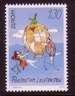 LIECHTENSTEIN MI-NR. 1340 POSTFRISCH EUROPA 2004 - FERIEN - Europa-CEPT