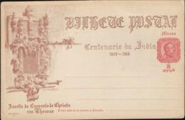 Portugal  1898 - Postal Stationery. MACAU, China. Centenario Da India. - Macau