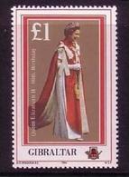 GIBRALTAR MI-NR. 511 POSTFRISCH(MINT) 60. GEBURTSTAG VON KÖNIGIN ELIZABETH II - Gibilterra