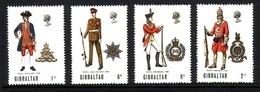 GIBRALTAR MI-NR. 229-232 POSTFRISCH(MINT) MILITÄRUNIFORMEN - Gibilterra