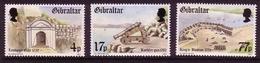 GIBRALTAR MI-NR. 469-471 POSTFRISCH(MINT) BEFESTIGUNG Von GIBRALTAR - KANONE - KING's BATION - Gibilterra