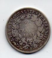 2 FRANCS 1887 - France