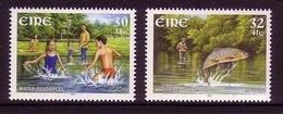 IRLAND MI-NR. 1337-1338 POSTFRISCH(MINT) EUROPA 2001 - WASSER ANGELN FORELLE - Europa-CEPT