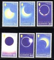ALDERNEY MI-NR. 131-136 POSTFRISCH(MINT) TOTALE SONNENFINSTERNIS 1999 TOTAL ECLIPS - Alderney