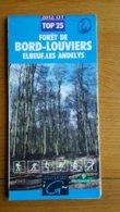 Carte IGN - 2012 OT - Forêt De Bord Louviers - Elbeuf Les Andelys - 1996 - TOP 25 - 1 / 25 000 - Cartes Topographiques