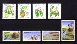 Botswana 1991-94, Année Du Tourisme, Noël, 645 / 648 – 721 / 724**, Cote 20, 25 € - Botswana (1966-...)
