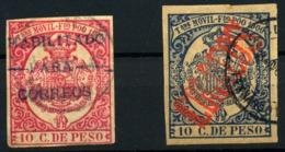 España Nº 41B, 48Ca. Año 1897/900 - Fernando Po