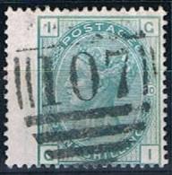 Great Britain, 1873/80, # Y 53, SG 150, Plate 10, Used - 1840-1901 (Regina Victoria)