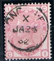 Great Britain, 1880/3, # Y 63, SG 158, Plate 21, Used - 1840-1901 (Regina Victoria)