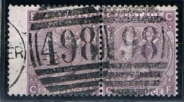 Great Britain, 1867/9, # Y 34, SG 104, Plate 6, Used - 1840-1901 (Regina Victoria)