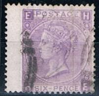 Great Britain, 1867/9, # Y 34, SG 104, Plate 6, Used - 1840-1901 (Viktoria)