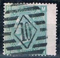 Great Britain, 1867/80, # Y 37, SG 115, Plate 4, Used - 1840-1901 (Regina Victoria)