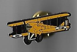 Avion De Chasse Militaire Jaune Guerre 14 - Luftfahrt