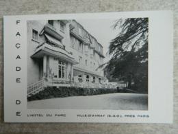 VILLE D'AVRAY           FACADE DE L'HOTEL DU PARC - Ville D'Avray