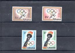 Ghana Nº 75-78 Olimpiadas, Serie Completa En Nuevo 1,75 € - Verano 1960: Roma