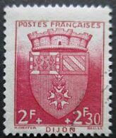 France N°559 ARMOIRIE De DIJON Oblitéré - Postzegels