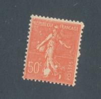 FRANCE - N°YT 199 NEUF* AVEC CHARNIERE AVEC VARIETE TACHES BLANCHES - 1924/32 - Curiosités: 1921-30 Neufs