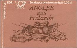 MH 9w1 Süßwasserfische 1988 - ESSt Berlin 29.11.88 - DDR