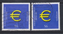 BRD,Germany / 2002  Mi: 2234,36 / Xy197 - Usados