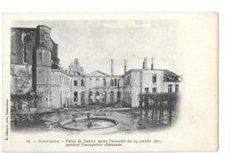 CPA - 88 - VOSGES - REMIREMONT - Palais De Justice Après L'incendie Du 29 Janvier 1871 - Remiremont