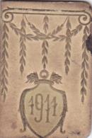 CALENDRIER 1911 MINIATURE De Poche Petit Format 52 Mm X 35 Mm - Klein Formaat: 1901-20