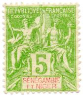"Timbre/Stamp ""Colonie Française"" - N°4 - Cotation Y&t - 7 Euros - Ongebruikt"