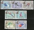 South Arabia - Kathiri State 1968 Winter Olympic Games Skiing Skate Hockey 7v Cancelled - Skateboard