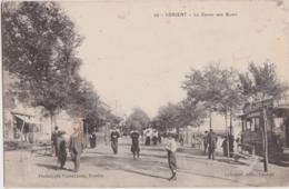 Bv - Cpa LORIENT - Le Cours Des Quais (cachet Au Dos Commission De Gare) - Lorient