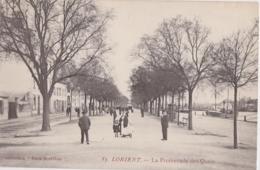 Bv - Cpa LORIENT - La Promenade Des Quais (coll. Paris Morbihan) - Lorient