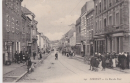 Bv - Cpa LORIENT - La Rue Du Pont - Lorient