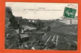 St-BRIEUC - Vallée Du Gouëdic,Viaduc Du Chemin De Fer - (Forges Atelier De Mécanique) - 1910 - - Saint-Brieuc