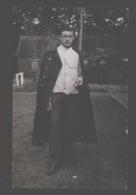 Portrait /portret - Carte Photo / Fotokaart - Verzonden Brasschaat-Polygone - 1908 - 'Encore 430 Jours' - Uniformen