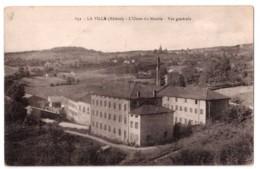 La Ville - L'Usine Du Moulin - Vue Générale - édit. Non Identifié 632 + Verso - France