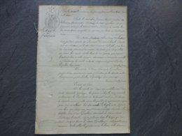 Fontenay-le-Comte 1876, Guillard Maison De Tolérance, Abus Tutelle  Labayle Ref 868 ; PAP09 - Historische Documenten
