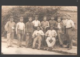 Original Photo Card / Carte Photo Originale - Soldiers / Soldats / Soldaten - 1918 - Militaria