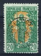 French Congo, 20c., Bakalois Woman, 1900, VFU very Nice Stamp - French Congo (1891-1960)