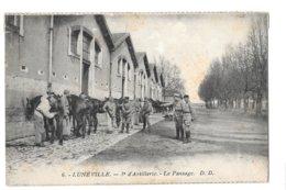 CPA - 3 éme Régiment D'artillerie  De LUNEVILLE - Regimientos