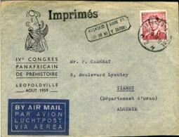 Enveloppe : Imprimés + Timbre Oblitéré N°925 - Otros