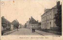 PEZOU - Route De Paris - Vendôme - Mairie - Otros Municipios