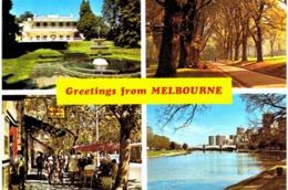 Océanie - Australie - Melbourne Como House - Fitzroy Gardens - Paris End - Skyline And Yarrariver - Melbourne