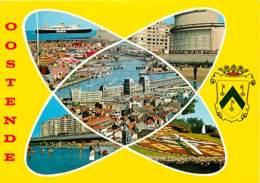 Belgique - Ostende - Oostende - Multivues - Blasons - Carte Neuve - Voir Scans Recto-Verso - Oostende