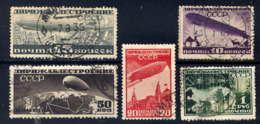 RUSSIE - A22/26° - DIRIGEABLES - 1923-1991 USSR