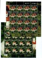 Croatia 2017: Europa - Castles; 16 Complete Sets In 2 Sheetlets. ** MNH - 2017