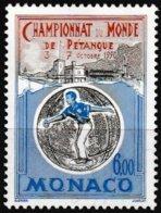 Timbre-poste Gommé Neuf** - Championnats Du Monde De Pétanque à Monaco - N° 1742 (Yvert) - Principauté De Monaco 1990 - Monaco